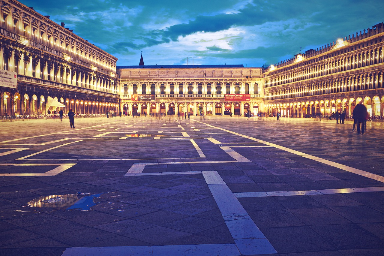 Piazzas in Italy
