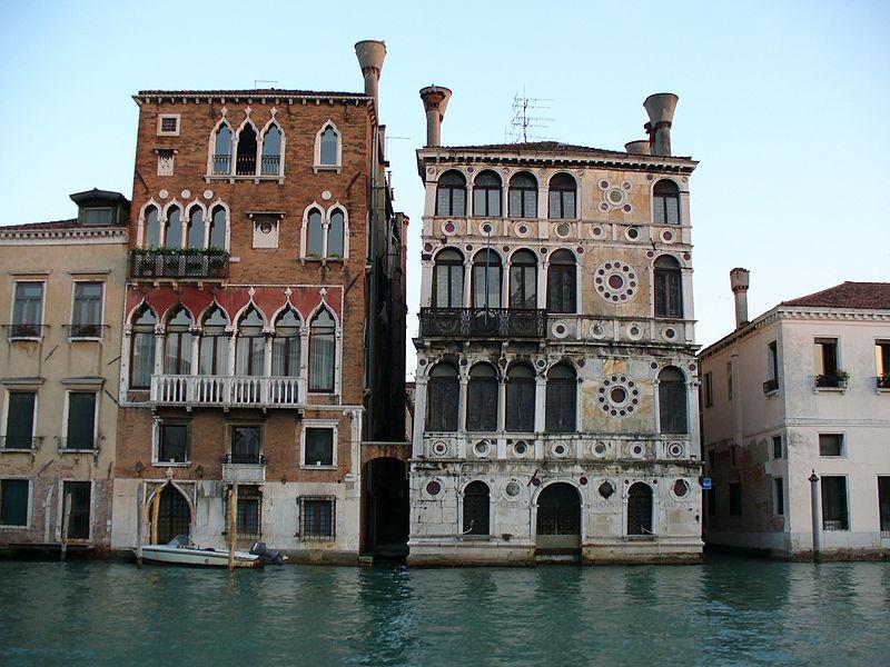 Palazzo Dario, Venice (credits: Leandro Neumann Ciuffo - Wikimedia)