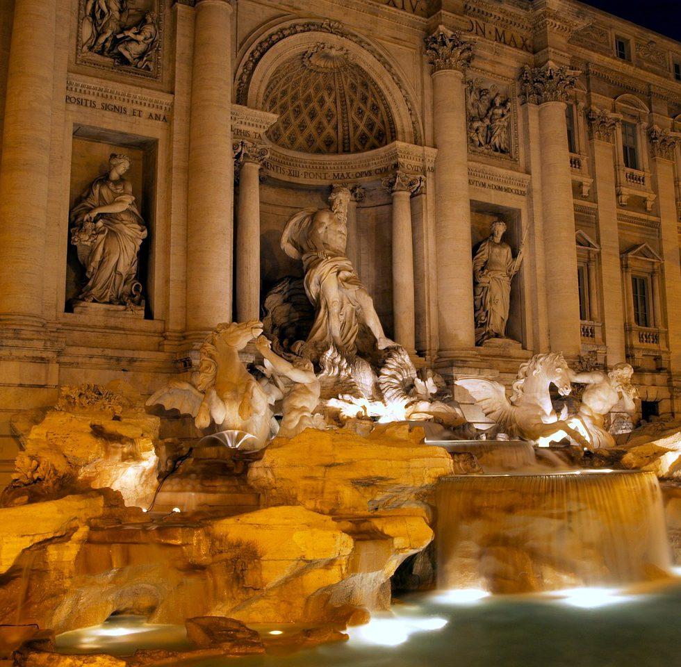 italian fountains