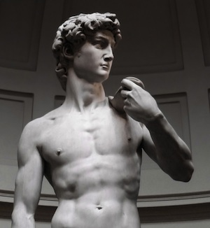 David in Florence museum