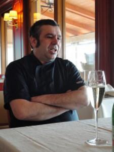 Nanni Solinas, chef of ristorante lido chelo