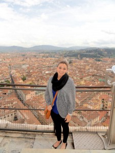 Nicole loved the view from the top of the Duomo in Florence
