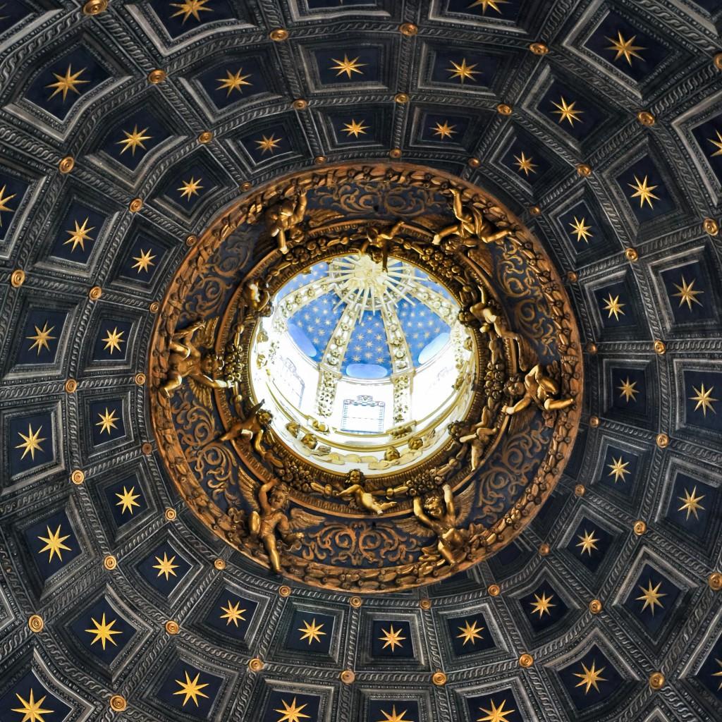 Siena's Vaulted Ceiling