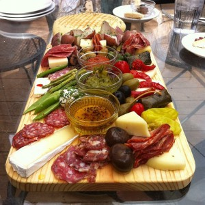 typical italian antipasto platter