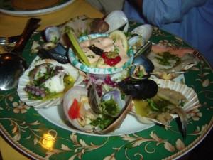 seafood antipasto taormina