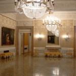 Inside La Fenice opera house