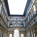 uffizi gallery in florence exterior