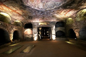 crypt of San gennaro