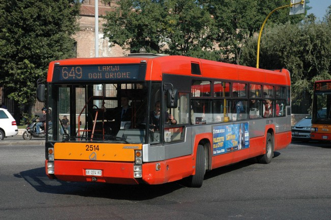 Bus in Italy