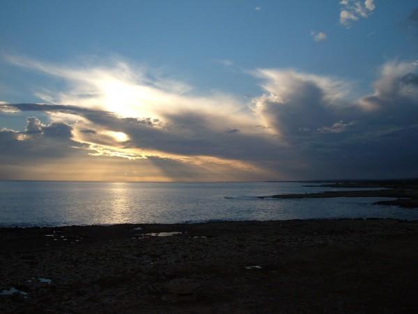 Sunset Apulia