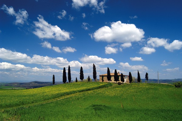 The Chianti area of Tuscany is the top destination for countryside holidays