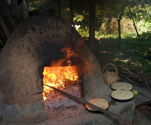 A wood oven can make the difference when it comes to pizza!