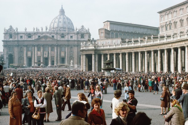 St. Peter Square is one of Easter's most visited location
