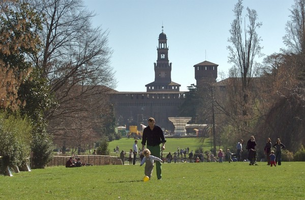 Parco Sempione in Milan is a great location to spend Pasquetta (credits: Wikimedia)