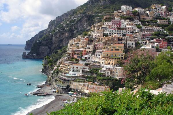 The Amalfi Coast is Campania's most popular tourist destination