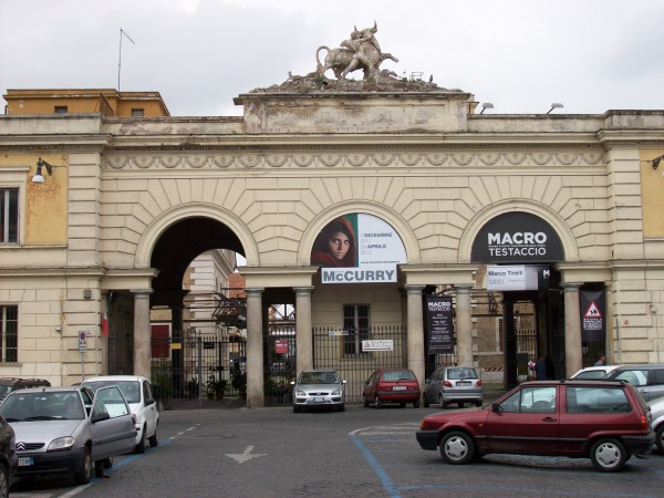 The former Testaccio Slaugherhouse, now Museum of Contemporary Art of Rome (MACRO) (credits: Wikimedia - Blackcat)