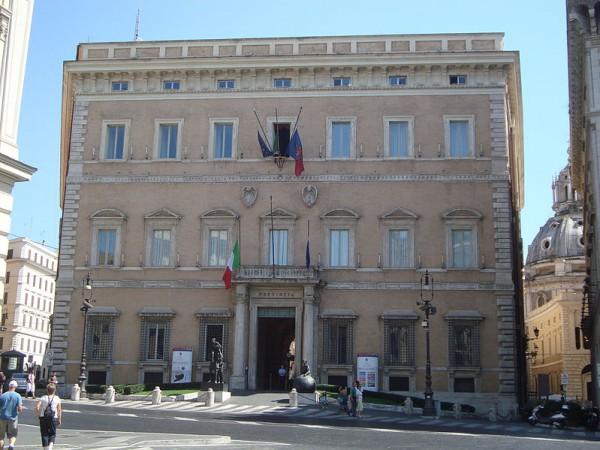 View of the Palazzo Valentini in Rome (credits: Wikimedia - LPLT)