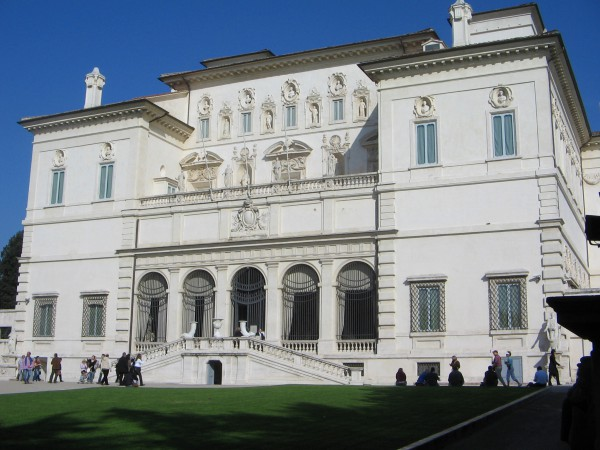 The Galleria Borghese includes twenty rooms across two floors.