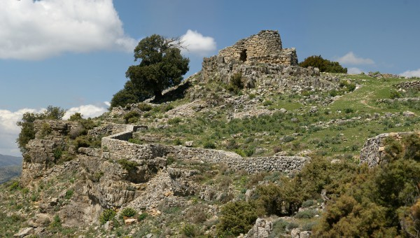 The nuraghe is a type of ancient megalithic edifice of Sardinia
