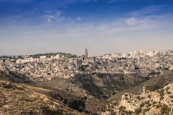 "Matera has gained international fame for its ""Sassi"""