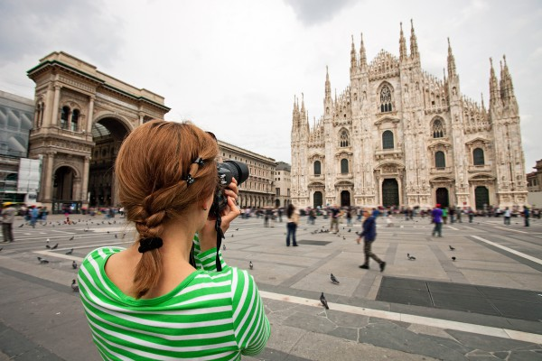 The Milan cathedral took nearly six centuries to complete