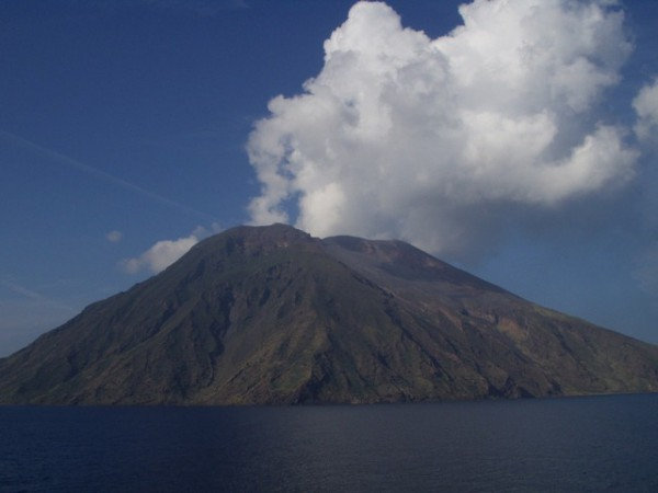 Mt. Stromboli has been in almost continuous eruption for the past 2,000 years