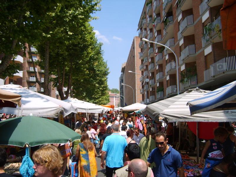 Italian markets - Rome