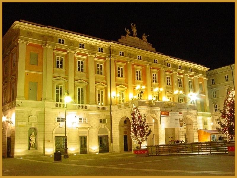 Map of Italy's opera houses - teatro verdi trieste