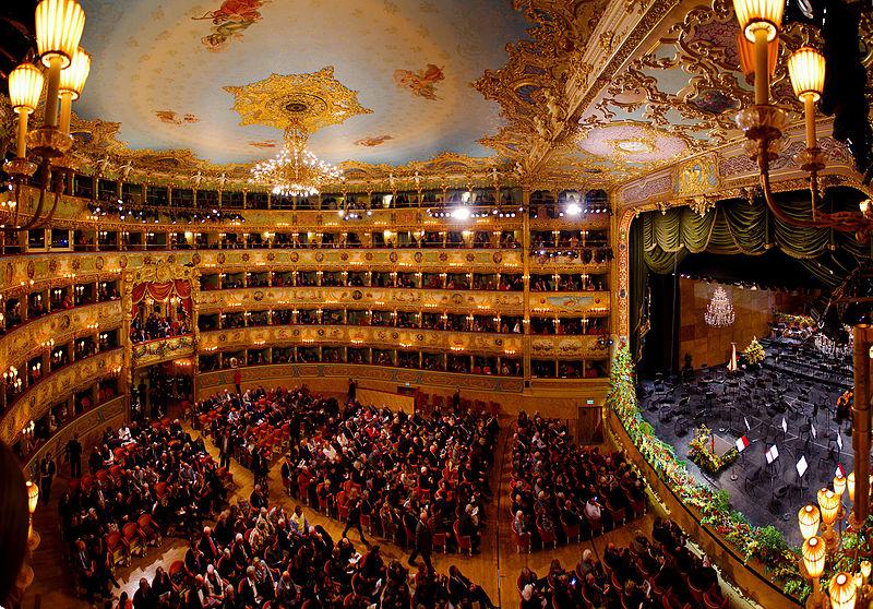Map of Italy's Opera Houses - Teatro La Fenice