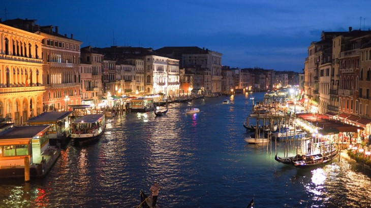 Nightlife in Venice