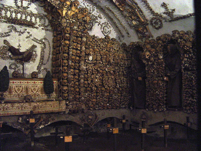 Capuchin Crypt (credits:  Stanthejeep - Wikicommons)