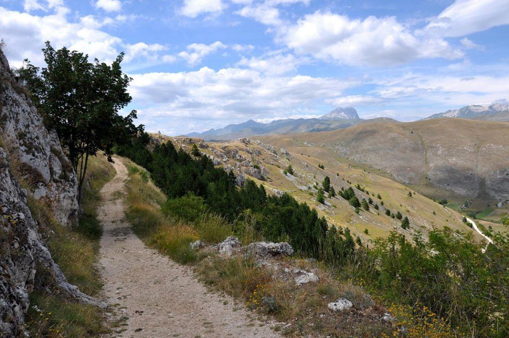 Monti della Laga, a mountain range in the central Apennines.