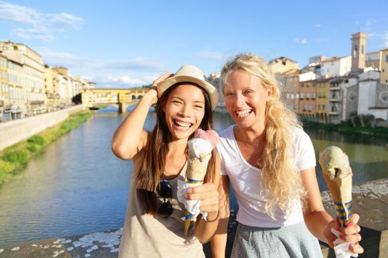 Vino and Gelato: Florence's Best-Known Creations