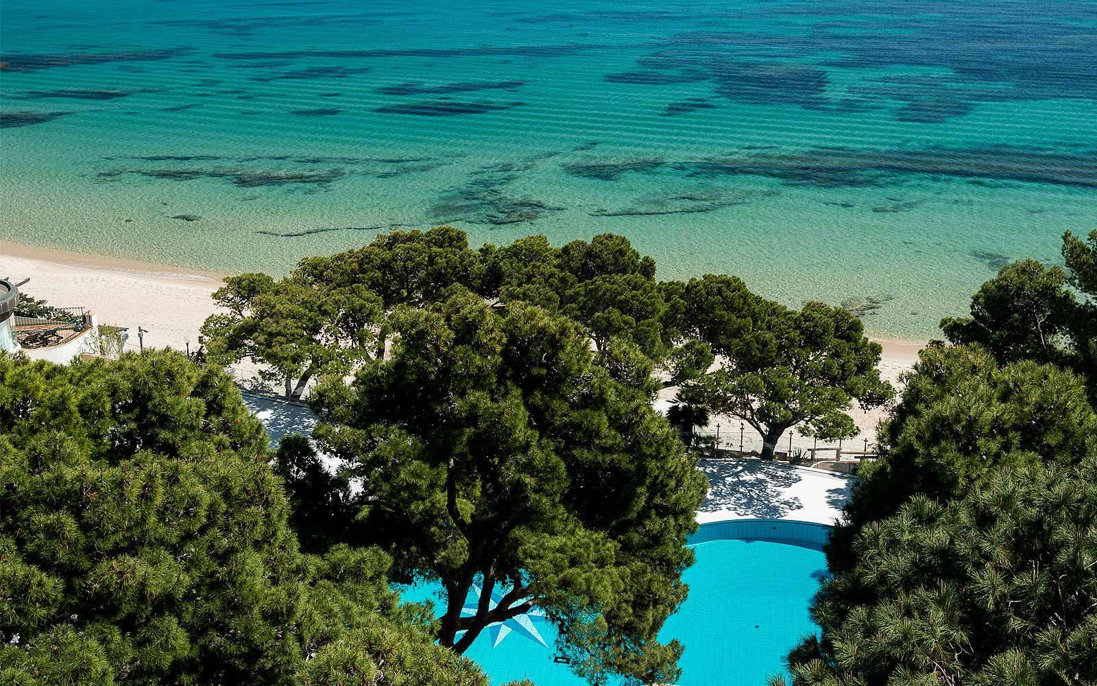 Swimming pool Forte Village Hotel Castello
