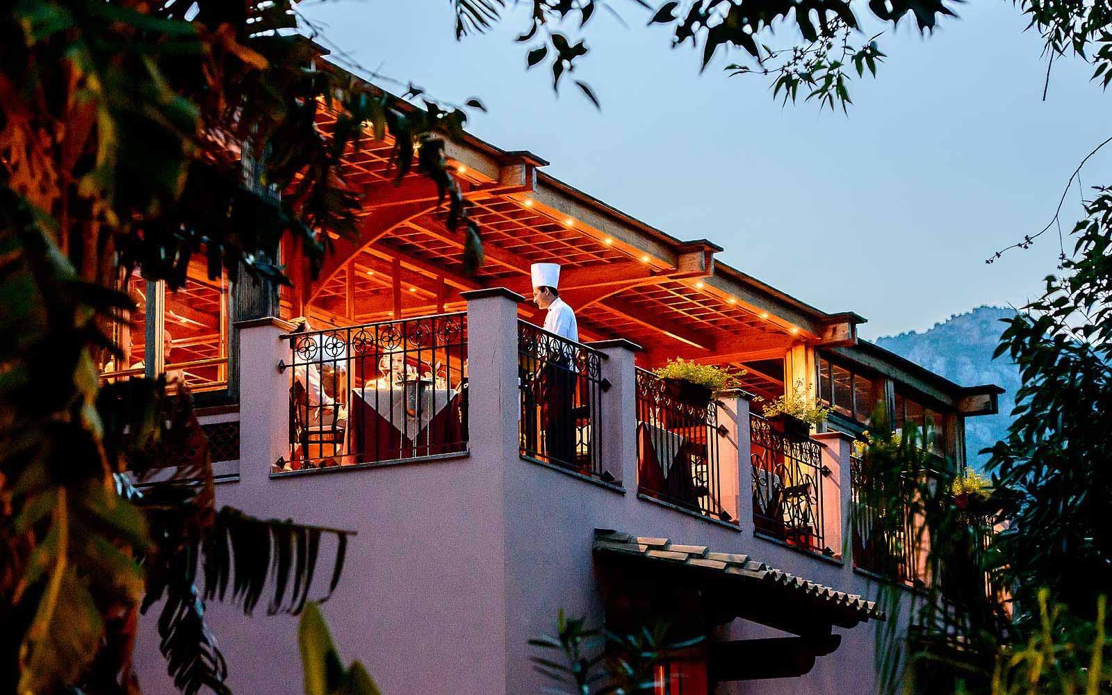 Belvedere restaurant at Forte Village Villa Del Parco