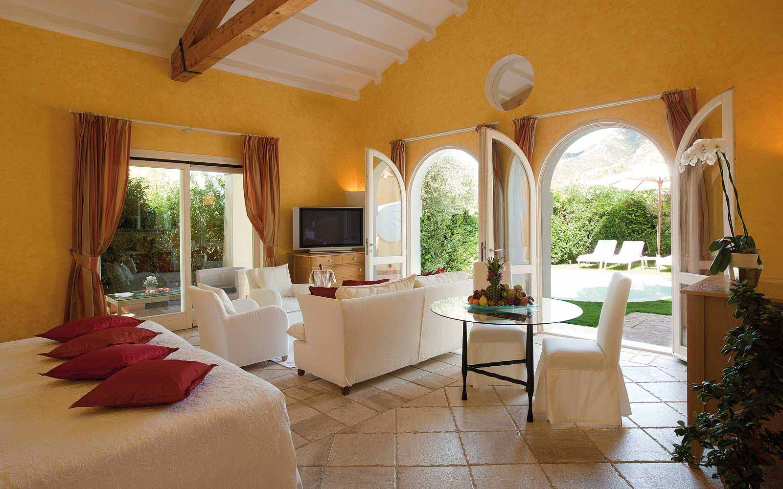 A Suite with pool at Forte Village Le Dune