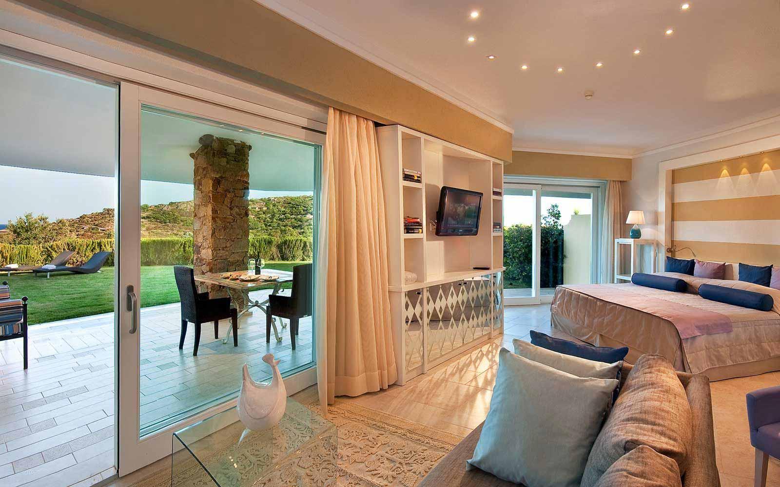 Garden suite at Hotel Laguna