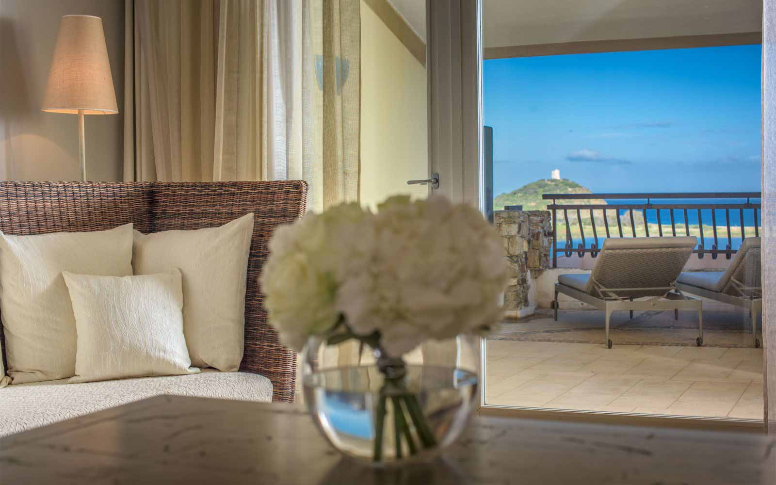 Sea view room at Hotel Laguna