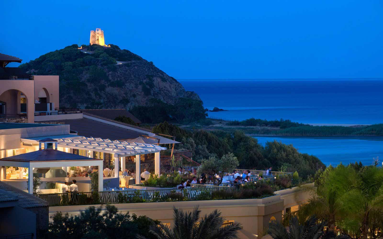 La Terrazza Restaurant at Hotel Laguna