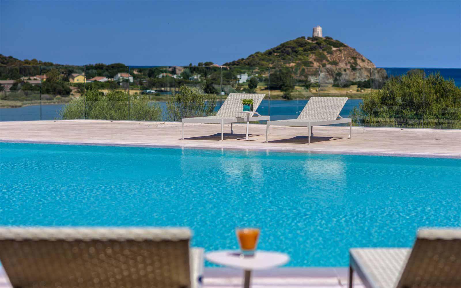 Bioaquam pool at Hotel Laguna