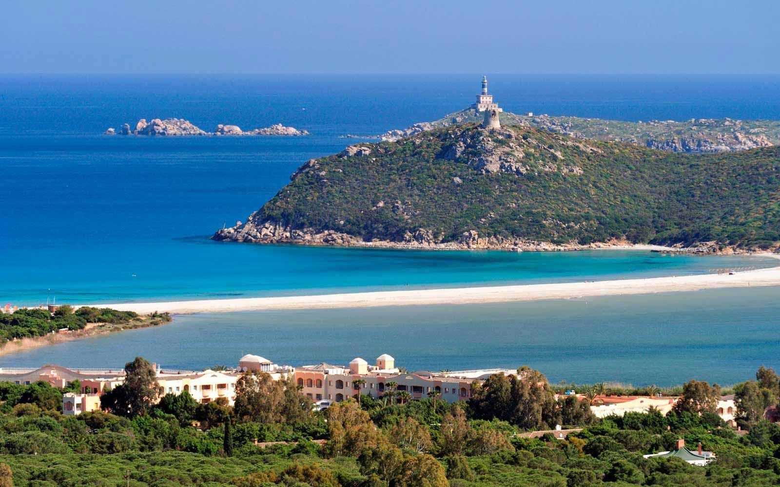 Panoramic bay view at Pullman Timi Ama Sardegna