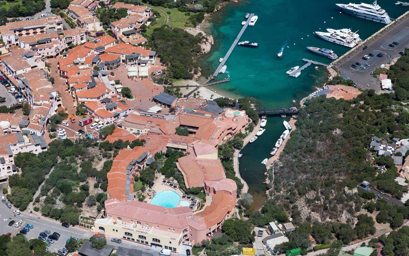 Aerial View of Cervo Hotel
