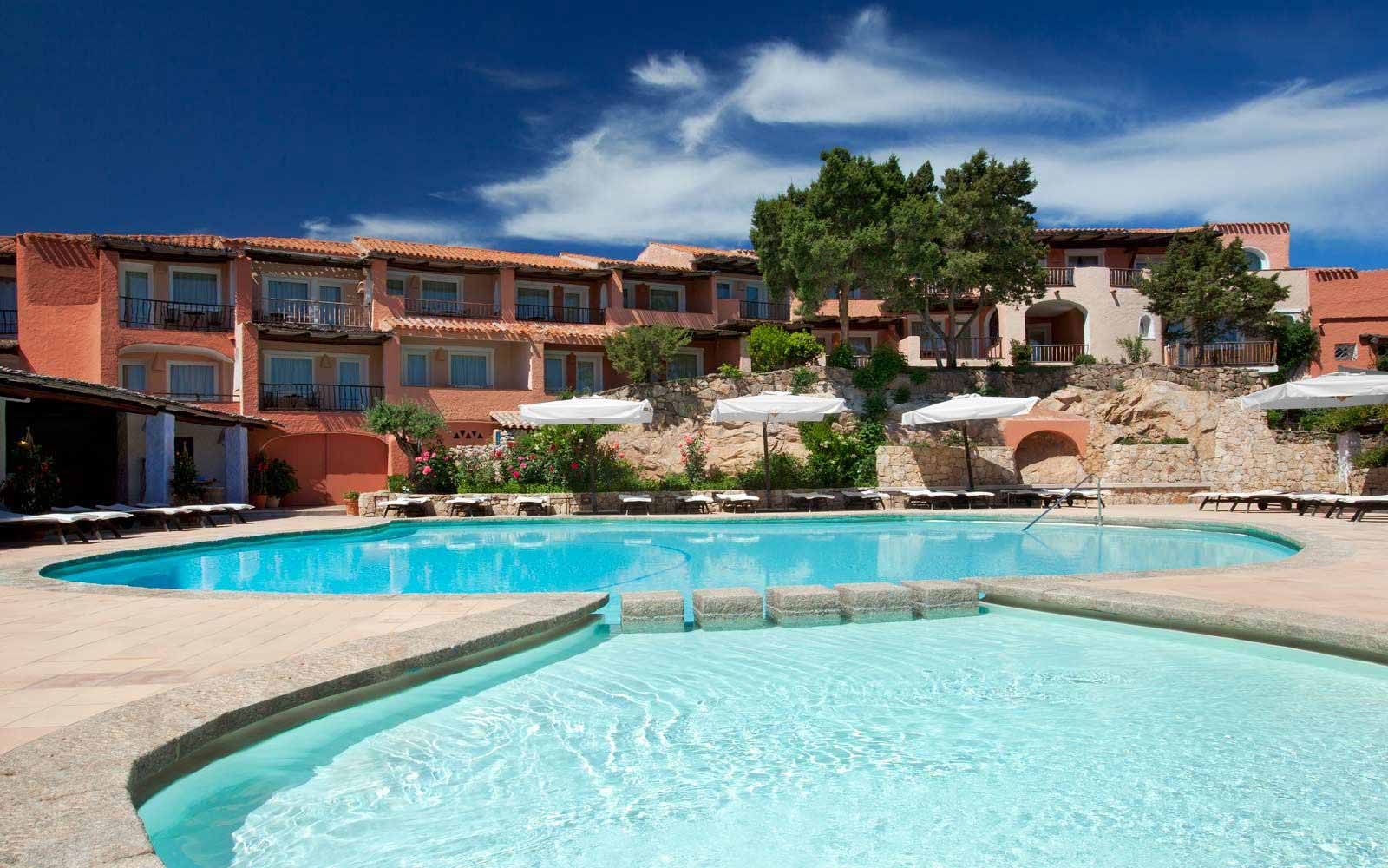 View of Cervo Hotel from the swimming pool