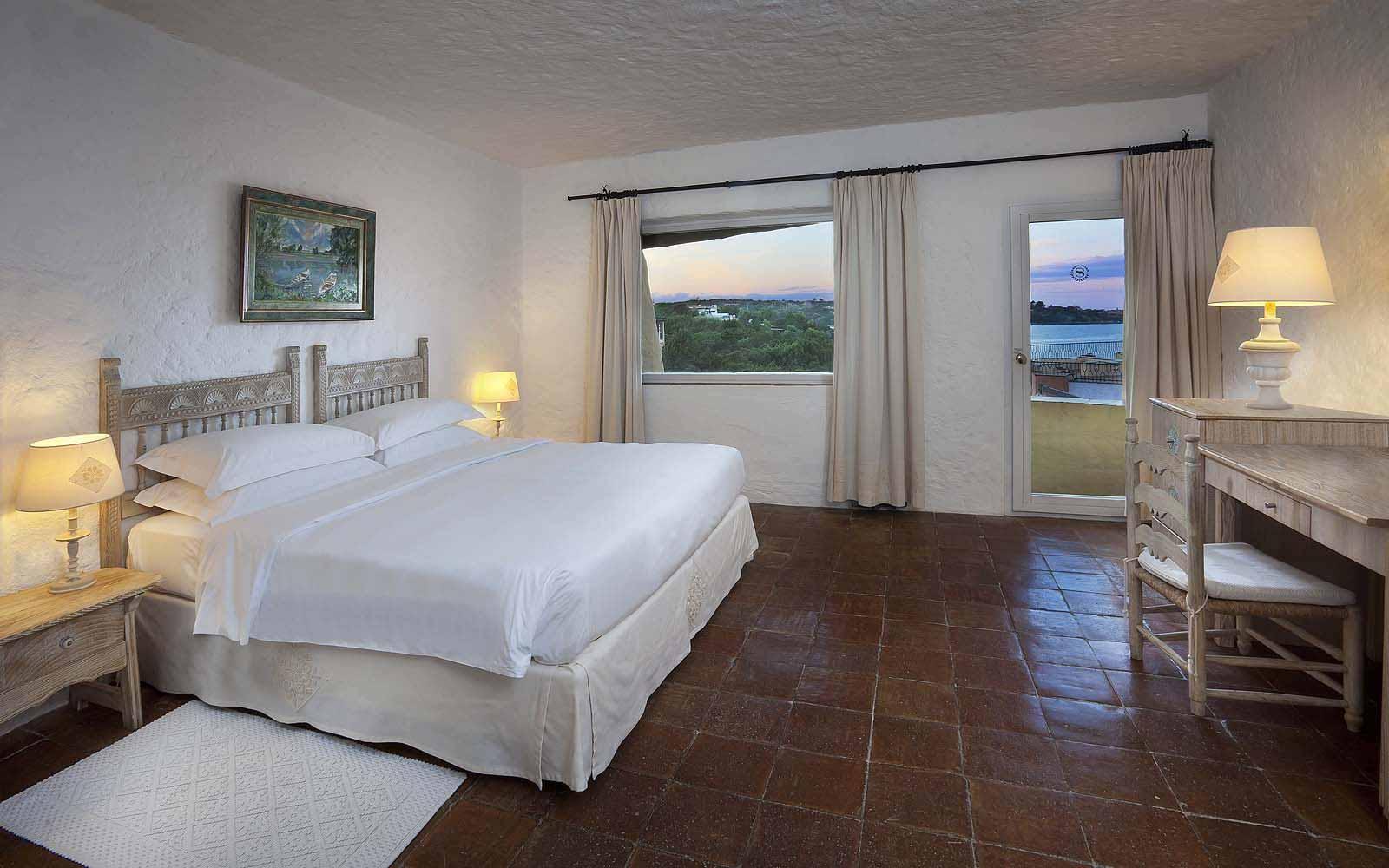 A Premium Room at the Hotel Cervo