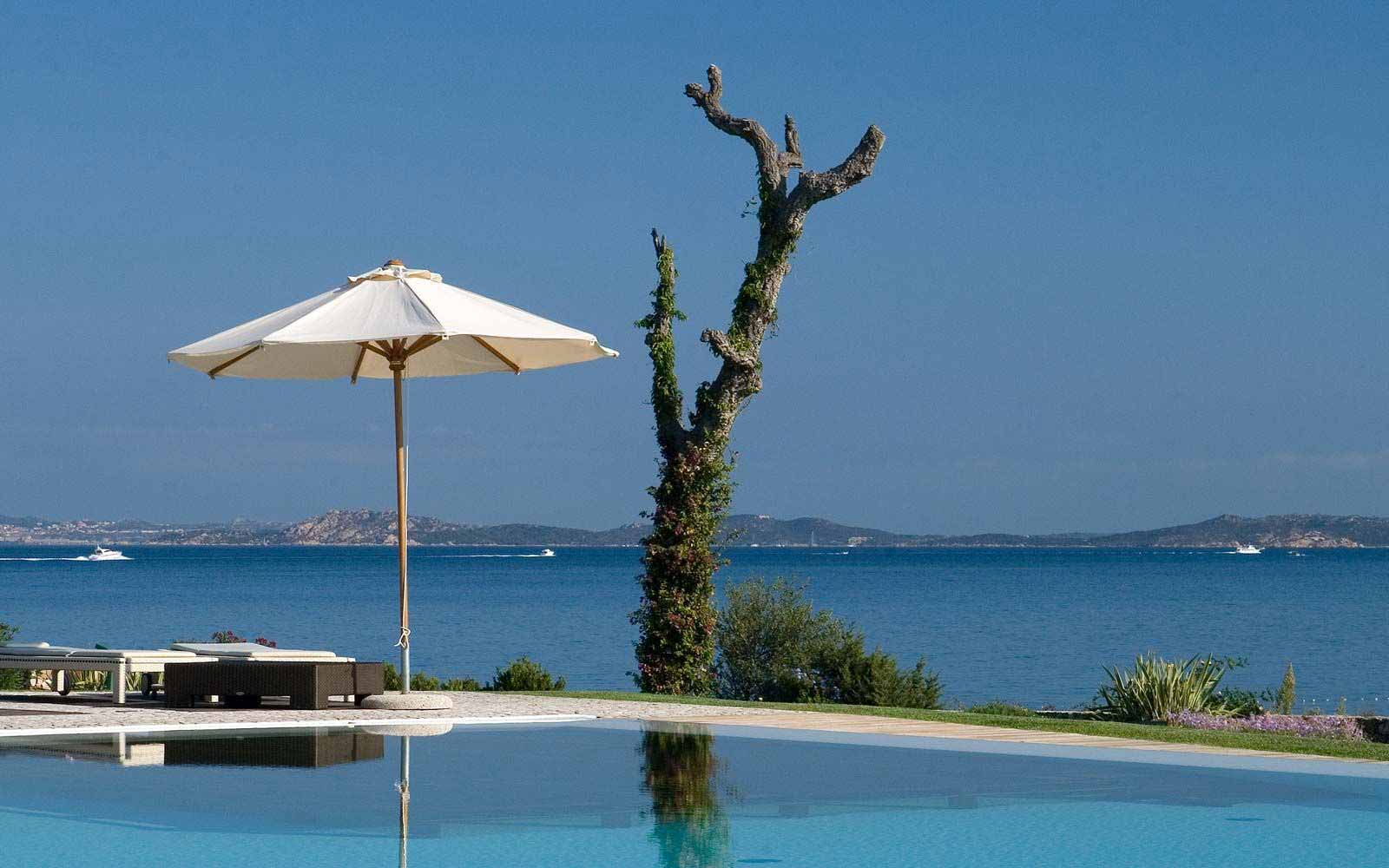 Panoramic view at L'Ea Bianca Luxury Resort