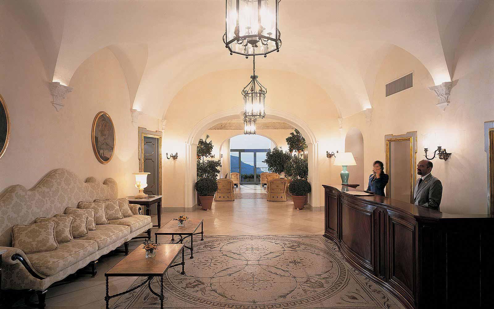 Reception at the Belmond Hotel Caruso