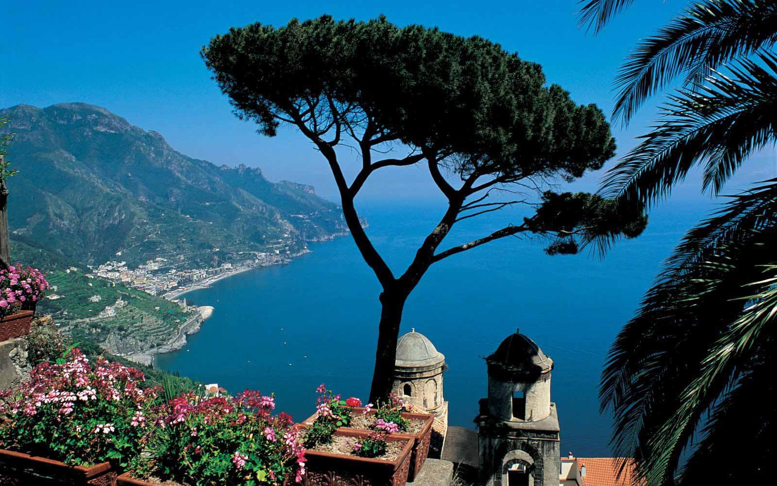View over Capo D'Orso from Belmond Hotel Caruso