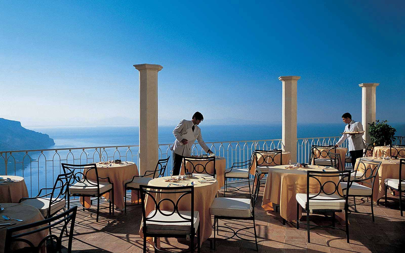 Restaurant at Belmond Hotel Caruso