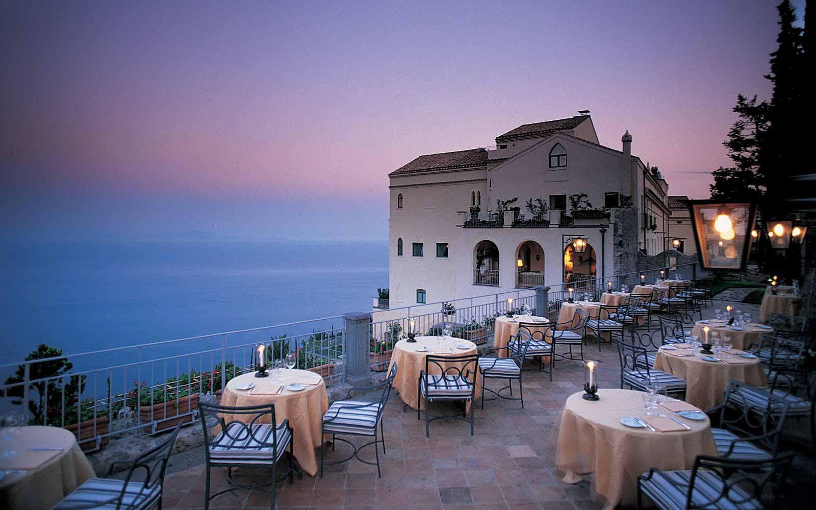 The Belveder Restaurant at Belmond Hotel Caruso