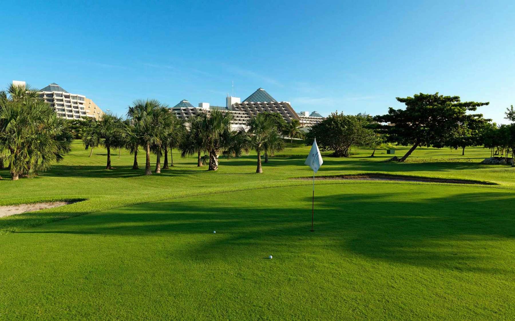 Golf Course at Paradisus Cancun